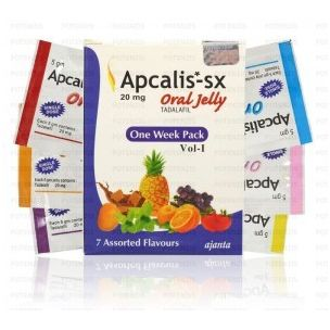 Apacalis SX Oral Jelly 20mg Cialis